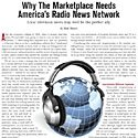 Why The Marketplace Needs America's Radio News Network
